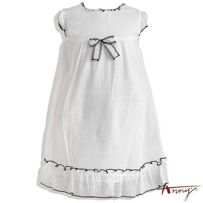 可愛輕盈雪紡蝴蝶結洋裝*1141白