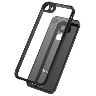 【極致防護】iPhone 8 / 7 四角氣囊防摔TPU手機殼-黑色
