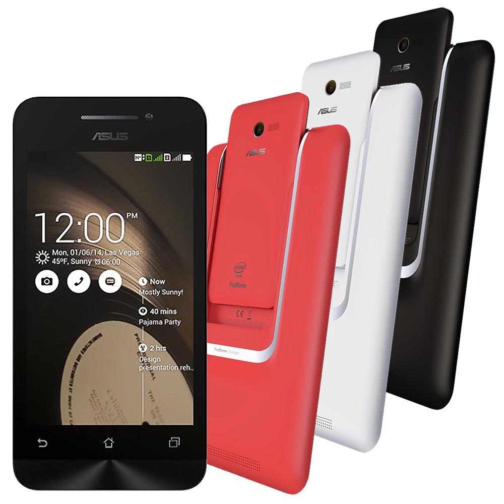 【福利品】ASUS PadFone mini PF400CG 4吋手機+平板基座