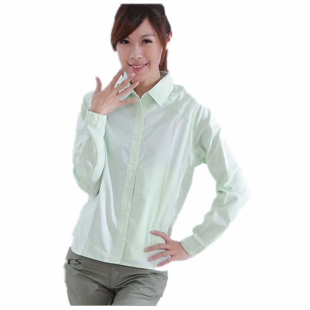CARAVA 女款日本原紗速乾排汗襯衫《綠》