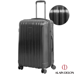 ALAIN DELON 亞蘭德倫 25吋極致旗艦系列可加大行李箱(黑)
