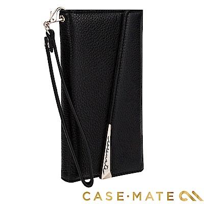 美國 Case-Mate iPhone 8+ / 7+ 真皮質感手拿包 - 黑
