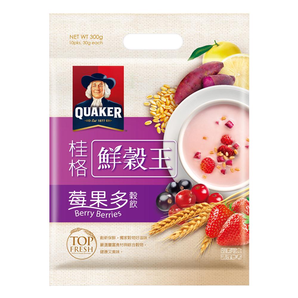 桂格 桂格鮮穀王-莓果多(30gx10入)
