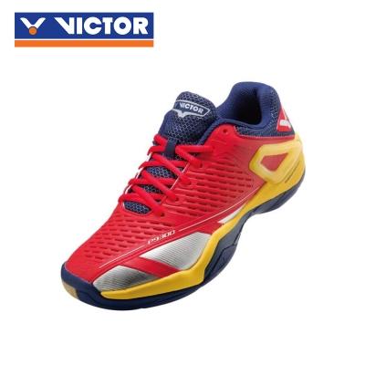 【VICTOR】勝利羽球鞋 SH-P9300 DE 鮮紅/明黃