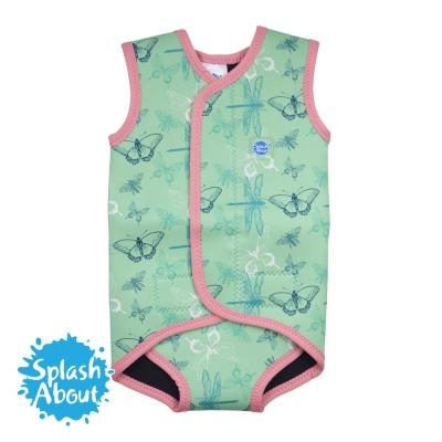 Splash About 潑寶 BabyWrap 包裹式保暖泳衣 -花漾蜻蜓