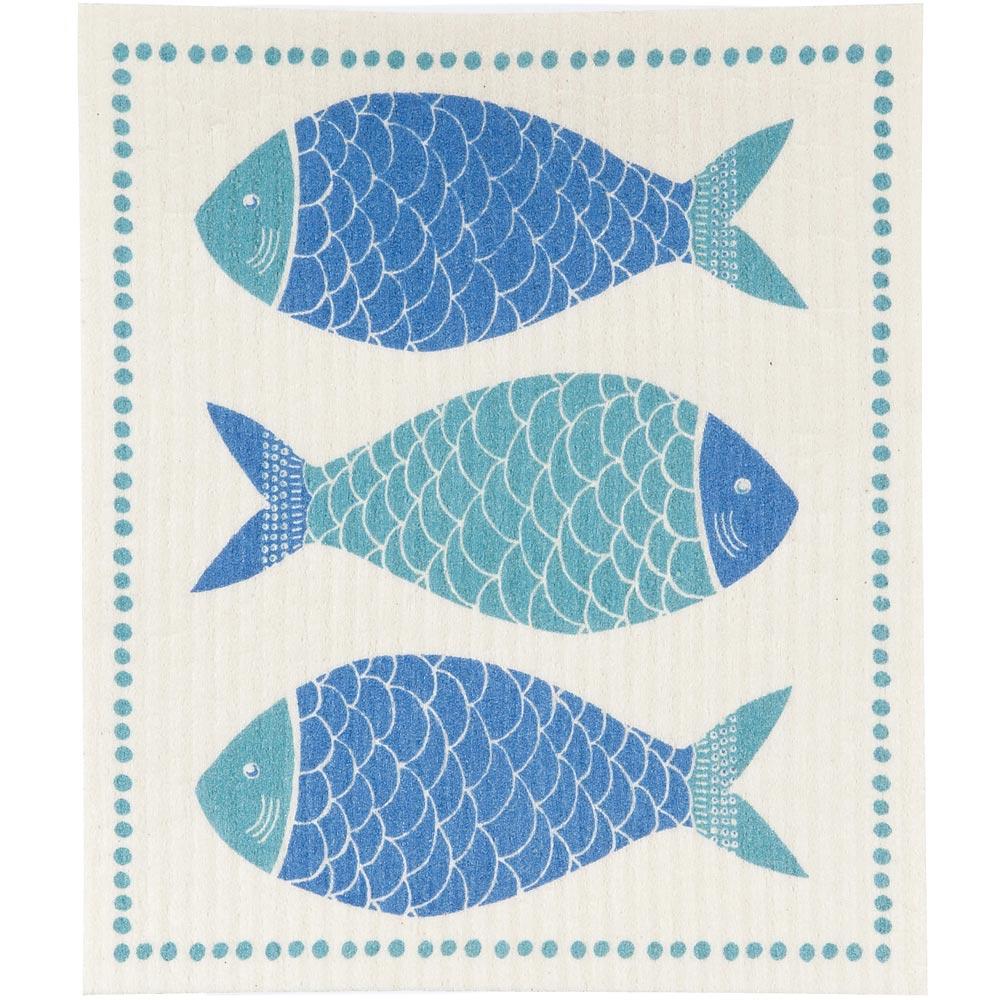 NOW 瑞典環保抹布(藍魚)