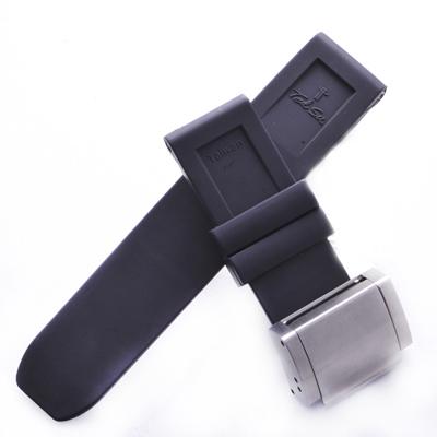 TED SU 太和錶帶 海中蛟龍PANERAI沛納海代用帶黑色潛水錶帶-24*24mm