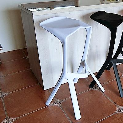 Amos-幾何設計休閒椅(4入)(44x51x77)