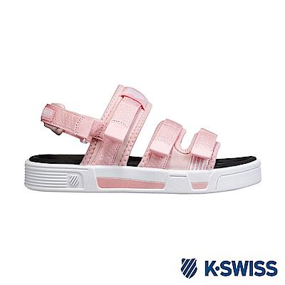 K-Swiss Trini Strap Sandal 休閒涼鞋-女-粉紅