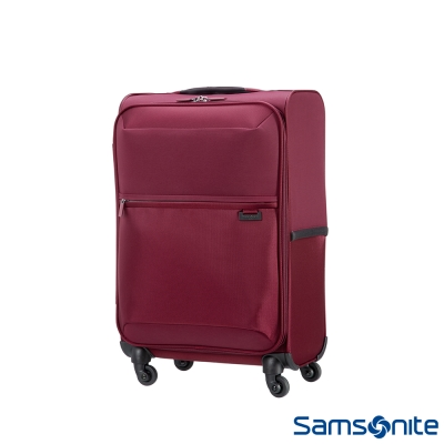 Samsonite-新秀麗-20吋-72H四輪-TSA極輕量布面登機箱-紫紅
