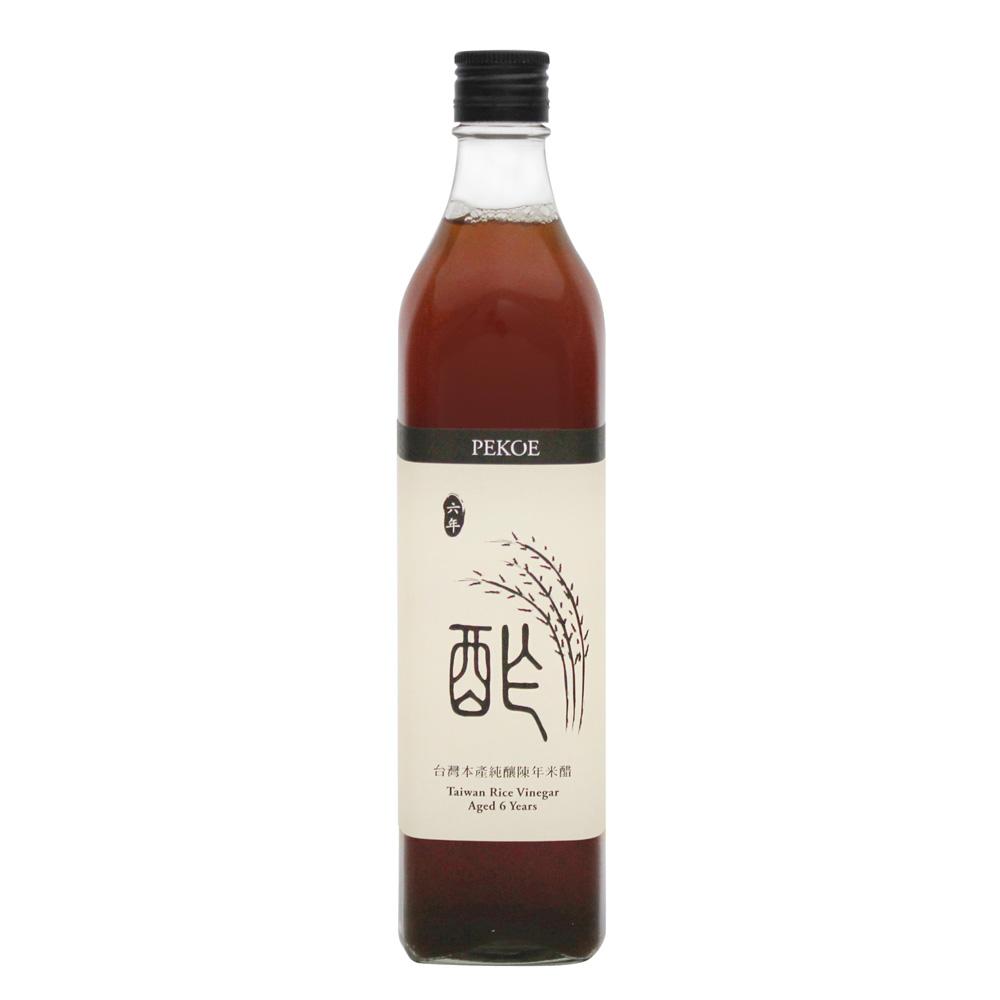 PEKOE 台灣本產純釀陳年米醋(520ml)
