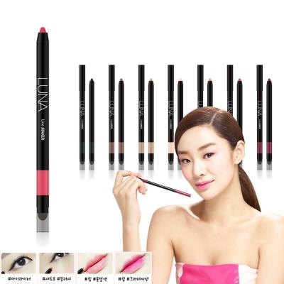 韓國LUNA 眼唇頰彩氣墊筆0.4g#6蜜桃紅