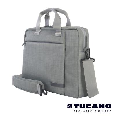 TUCANO SVOLTA 11/12吋都會風尚側背包-淺灰