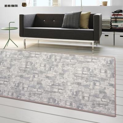 范登伯格 - 朝暘 進口地毯-渲染 - 淺灰 (小款-100 x 150cm)