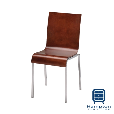 漢妮Hampton愛麗屋日式雅致餐椅─櫻花木色(45x52x86cm)