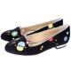 Charlotte Olympia Abstract Kitty天鵝絨貓咪鞋(黑色) product thumbnail 1