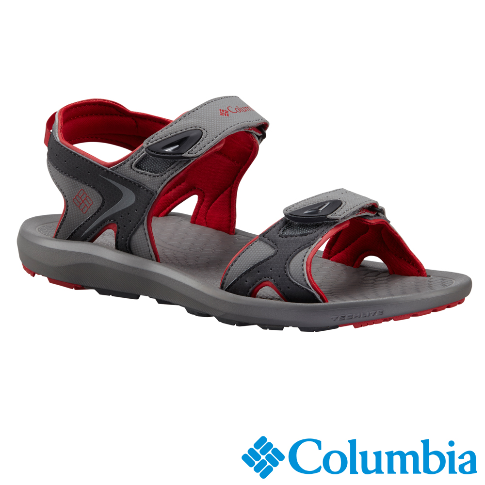 【Columbia哥倫比亞】男-涼鞋-灰色 UBM45110GY