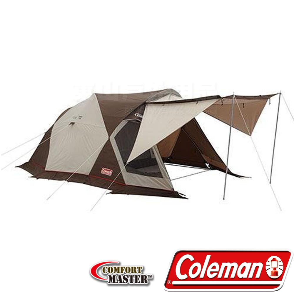 Coleman 22056 氣候達人TRIO 4S露營帳篷/240 透氣帳/炊事帳/防蚊帳