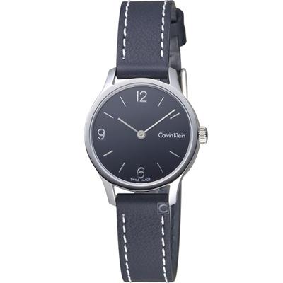 Calvin Klein Endless 摩登時尚細緻腕錶-黑/26mm