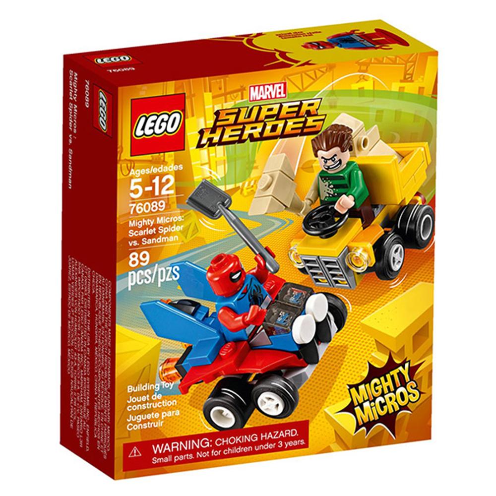 LEGO樂高 超級英雄 迷你車系列 76089 猩紅蜘蛛vs.睡魔人