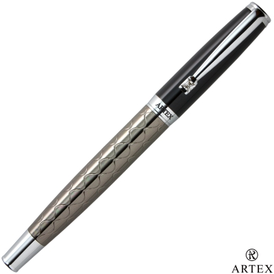 ARTEX 鍾愛寬版鋼筆-波紋/亮黑