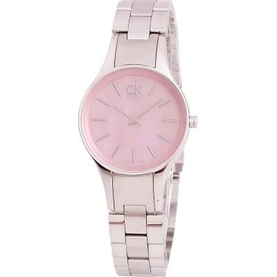 Calvin Klein ck Simplicity 簡約粉彩珍珠貝女腕錶-32mm