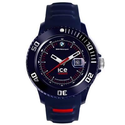 Ice-Watch BMW運動系列 摩登潮流手錶-藍x紅/43mm
