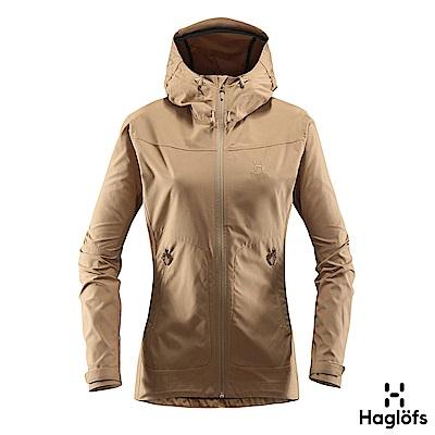 Haglofs 女 Trail 風衣外套 橡木色