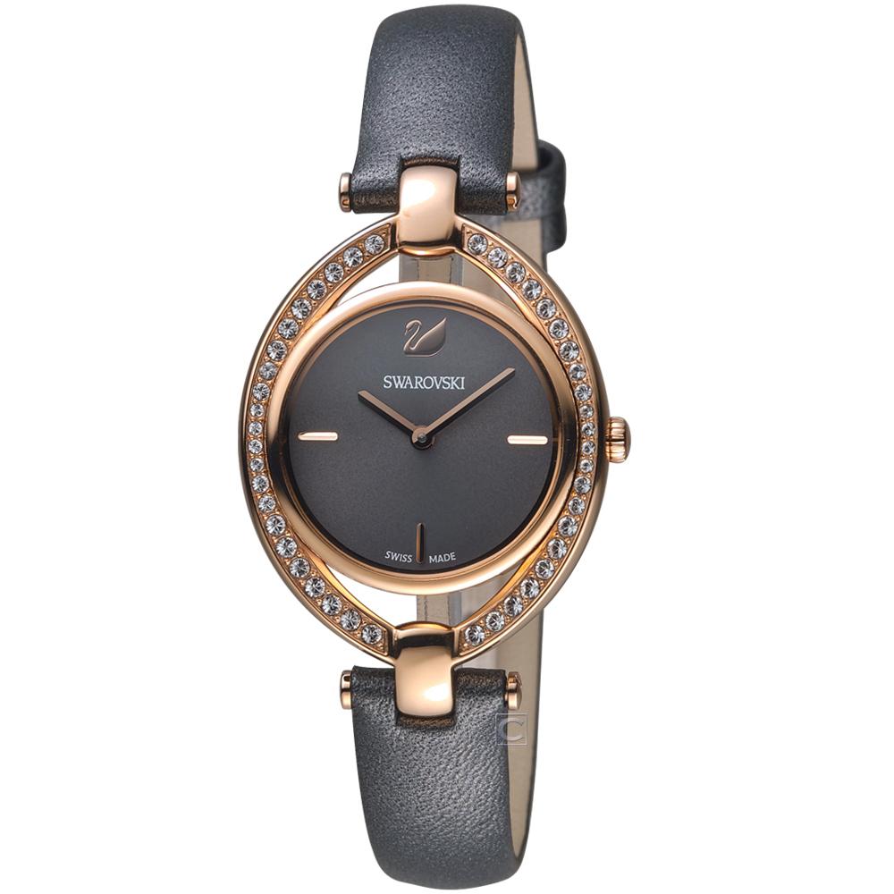 施華洛世奇SWAROVSKI Stella嫵媚流線時尚腕錶(5376842)