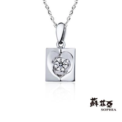 蘇菲亞SOPHIA-鑽石項鍊-愛戀滿屋0-05克拉