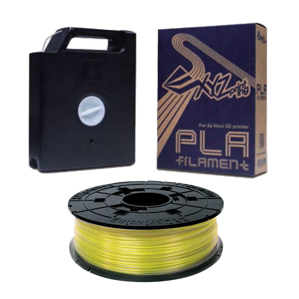 XYZ Printing 3D列印PLA耗材(黃色/Yellow)