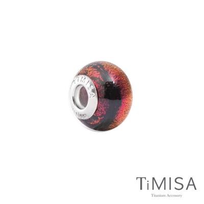 TiMISA 眼眸(11mm)純鈦琉璃 墜飾串珠