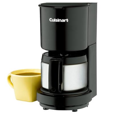 Cuisinart-美國美膳雅4杯不鏽鋼杯咖啡機-DCC-450BKTW