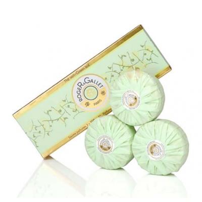 Roger & Gallet 綠茶香氛香水皂禮盒  3 入組