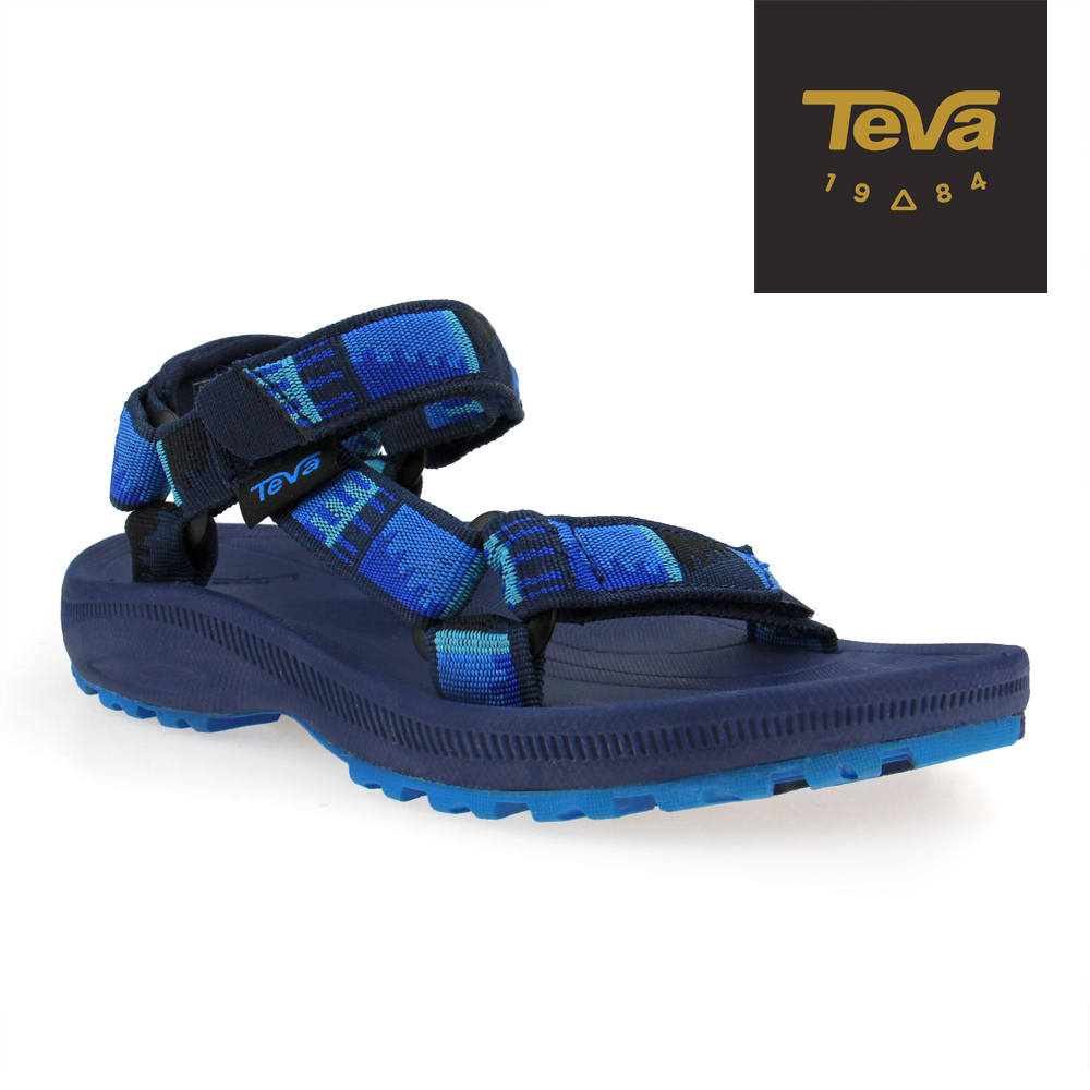 TEVA 美國 中童 Hurricane 2 運動涼鞋 (藍灰)