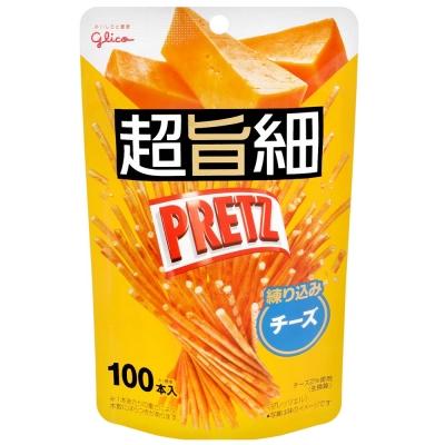 Glico 超細PRETZ餅乾棒-起士(53g)