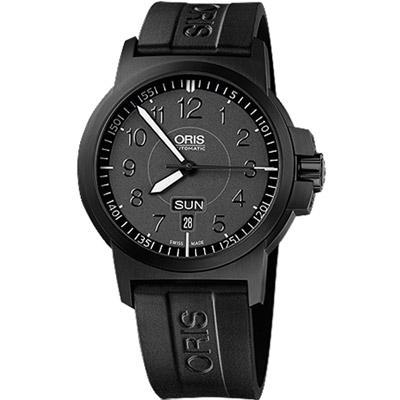 Oris BC3 Advanced日曆星期錶-鍍黑/42mm