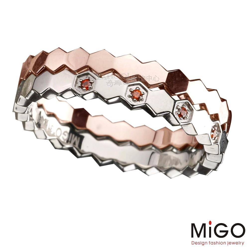 MiGO-依戀(玫瑰)尾戒(5-12號)