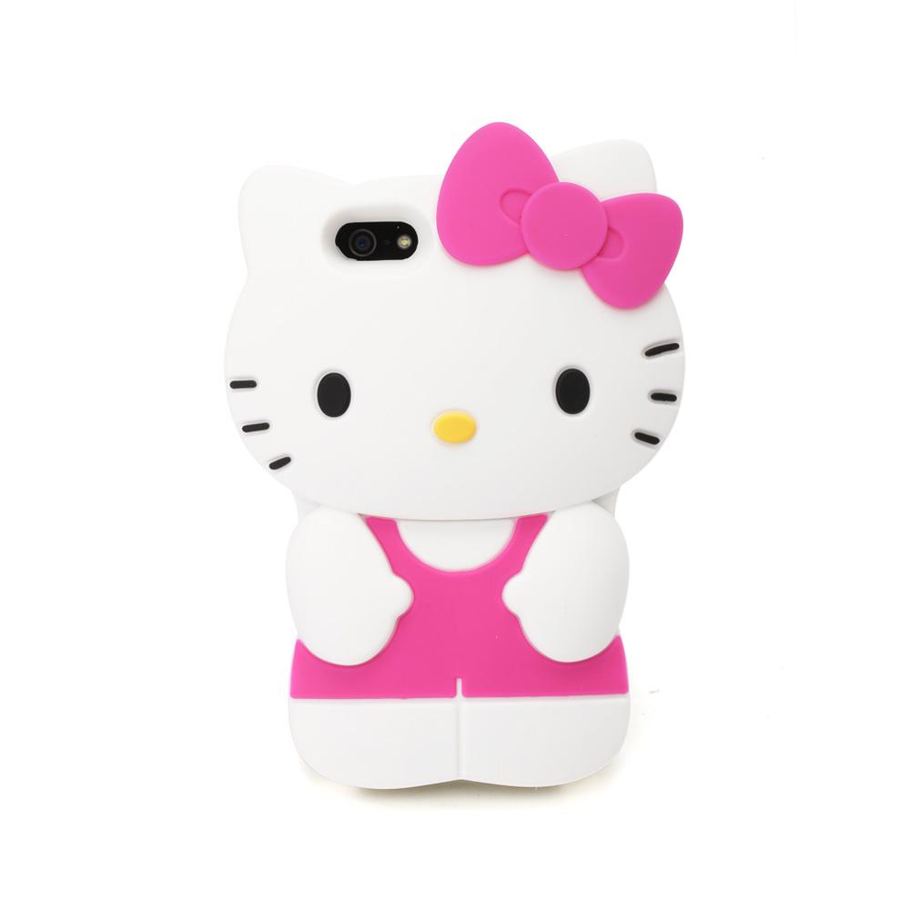 Sanrio HELLO KITTY經典造型iPhone5 5S手機殼