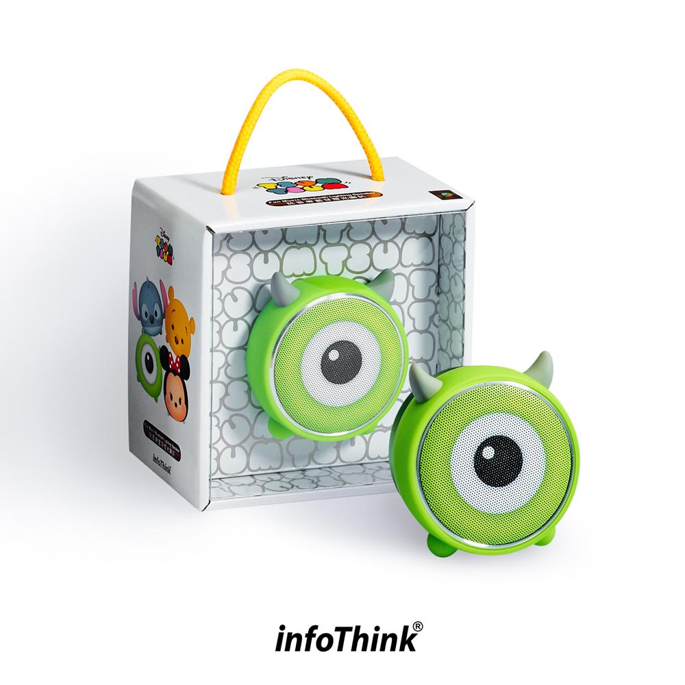 InfoThink TSUM TSUM玩音樂藍牙燈光喇叭-大眼仔  Mike