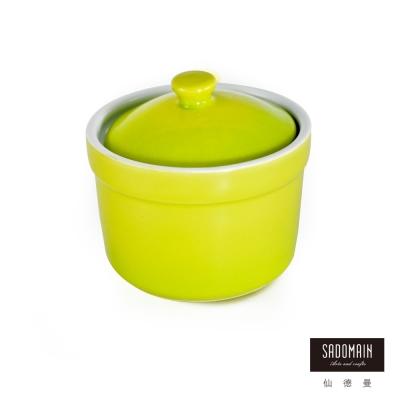 仙德曼SADOMAIN 亮彩焗烤燉盅焗烤盤-綠色