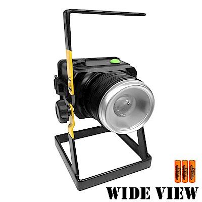 【WIDE VIEW】變焦T6防水工作/照明燈組(NZL-806-3BC)-快