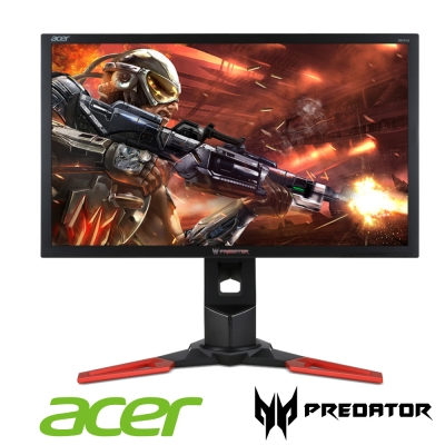 acer Predator XB241H 24型 1ms/144Hz 電競電腦螢幕