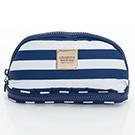 VOVAROVA空氣包-刷具化妝包-經典條紋(藍)