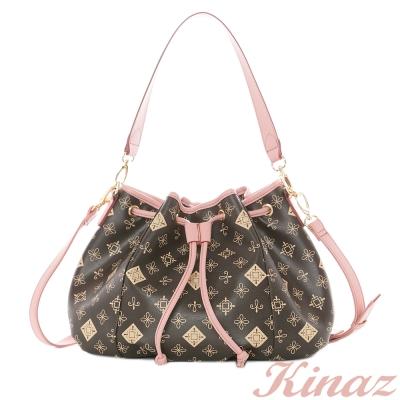 KINAZ-浪漫情事-曖昧情愫2way水桶包