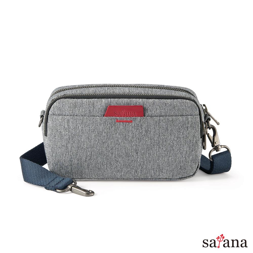 satana -Fresh輕職人聰明多功能包-麻花灰