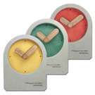 簡約時尚居家清水模日式北歐風格桌上型靜音座鐘時鐘 - 三色任選