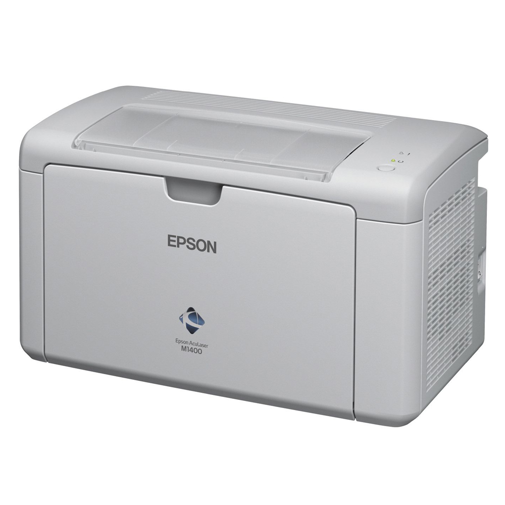 Epson雷射0元機--M1400雷射0元機+6支碳粉