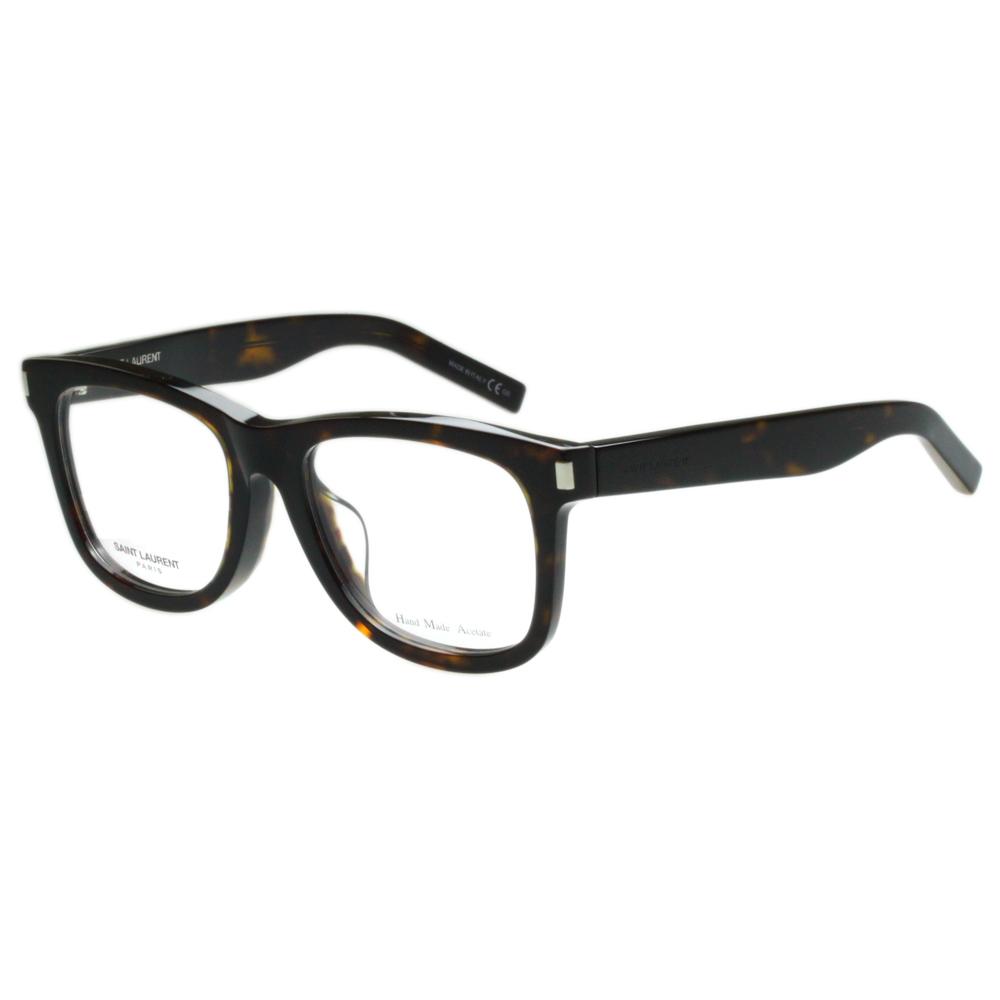 Saint Laurent Paris -時尚光學眼鏡 (琥珀色)