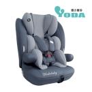 (送有機棉口水巾-隨機款)YoDa 成長型兒童安全座椅-尊爵灰